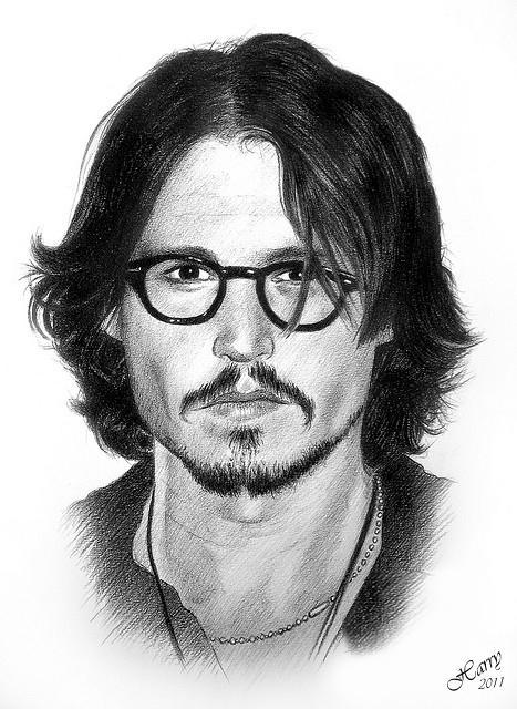 Johnny Depp by HARRY